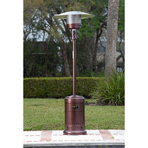 Fire Sense 46,000 BTU Hammer Tone Bronze Finish Commercial Patio Heater