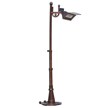 Mojave Sun 1500 Watt Traditional  Design Hammer Tone Bronze Telescoping Pole Mounted Infrared Patio Heater