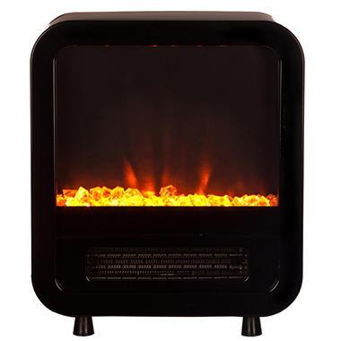 Fire Sense Skyline Electric Fireplace Stove - Black