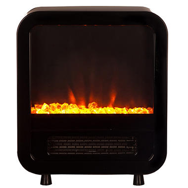 Fire Sense Skyline Electric Fireplace Stove - Black