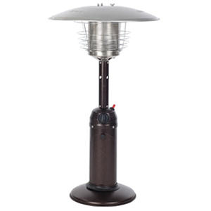Hammer Tone Bronze Finish Tabletop Patio Heater