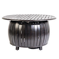 Grand Copper Extruded Aluminum Round LPG Fire Pit
