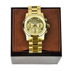 Ladies Runway Watch in Gold-Tone Stainless Steel by Michael Kors