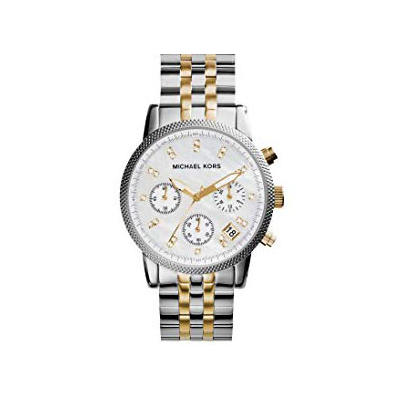 Ladies Ritz Two-Tone Watch by Michael Kors