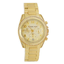 Women's Blair Gold Tone Stainless Steel Watch by Michael Kors