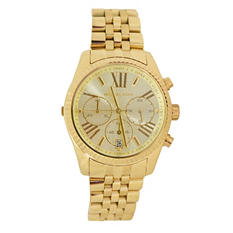 Women's Lexington Gold-Tone Stainless Steel Watch by Michael Kors