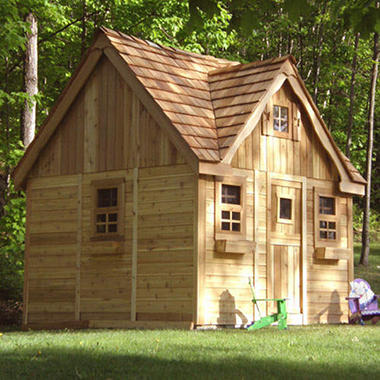 Lauren's Cottage Playhouse - 9' x 9'