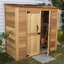 Outdoor Living Grand Garden Chalet Shed - 6' x 3'