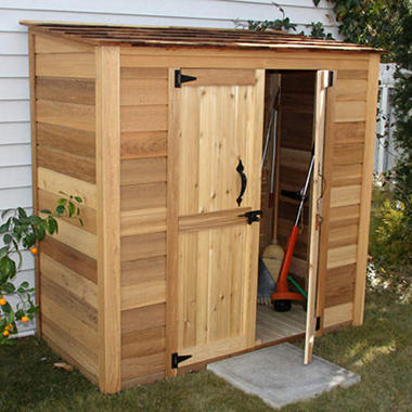 6' x 3' Outdoor Living Grand Garden Chalet Shed