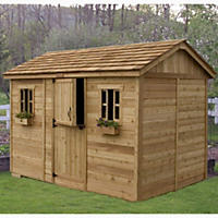 12' x 8' Outdoor Living Cabana Garden Shed