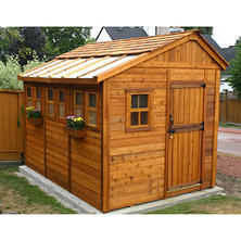 Outdoor Living Sunshed Garden Shed