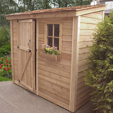 Space Saver Storage Shed - 8' x 4'