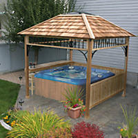 Naramata Spa Shelter - 9' x 9'