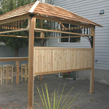 Privacy Panel for Naramata 9 'x 9' Spa Shelter