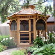 12 ft. Bayside Octagon Gazebo Screen Kit