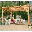 10 ft. x 10 ft. Cedar Breeze Pergola