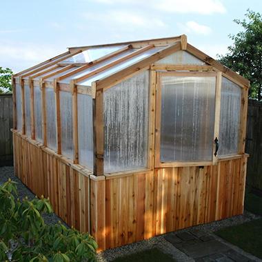 Western Cedar Greenhouse - 8 x 12