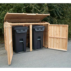 6' x 3' Oscar Waste Management Shed