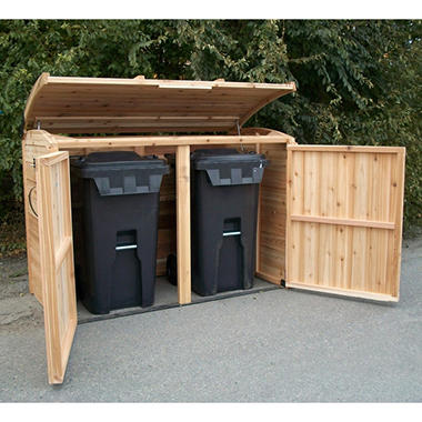 Oscar Waste Management Shed - 6' x 3'