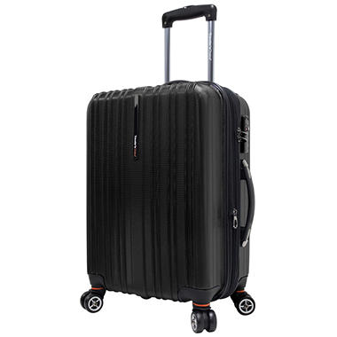 "Traveler's Choice 21"" Tasmania Spinner Luggage - Black"