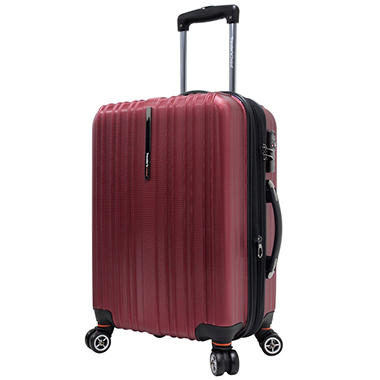 "Traveler's Choice 21"" Tasmania Spinner Luggage - Red"