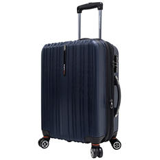 "Traveler's Choice 21"" Tasmania Spinner Luggage - Navy"