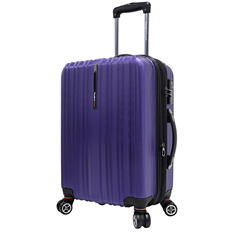 "Traveler's Choice 21"" Tasmania Spinner Luggage - Purple"
