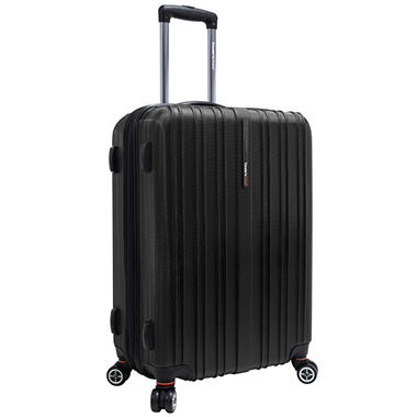 "Traveler's Choice 25"" Tasmania Spinner Luggage - Black"