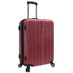 "Traveler's Choice 25"" Tasmania Spinner Luggage - Red"