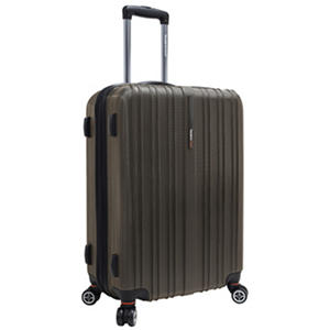 "Traveler's Choice 25"" Tasmania Spinner Luggage - Dark Brown"