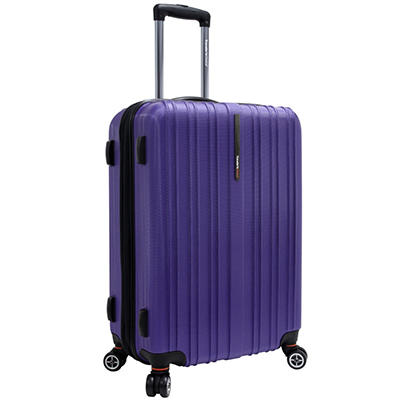"Traveler's Choice 25"" Tasmania Spinner Luggage - Purple"