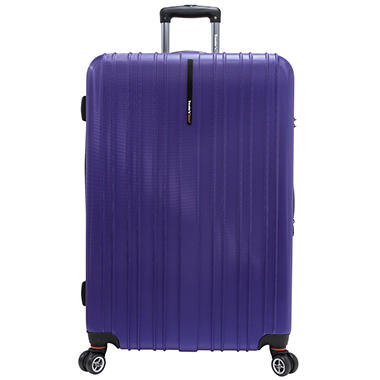"Traveler's Choice 29"" Tasmania Spinner Luggage - Purple"