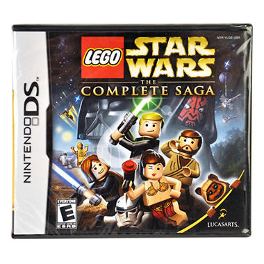 LEGO SW COMPLETE SAG NDS VIDEO GAME