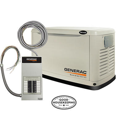 14KW GENERATOR LP OR NATURAL GAS