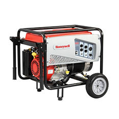 Honeywell 6,500W / 8,125W Portable Gas Powered Generator w/ Pull Start (Save $150 Now)