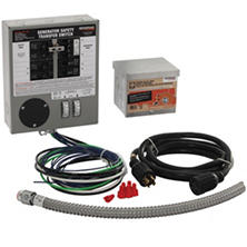 Generac 30 AMP Indoor Generator Transfer Switch Kit for 6-10 Circuits