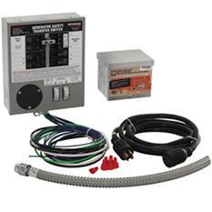 Generac 30 AMP Indoor Generator Transfer Switch Kit for 6-10 Circuits