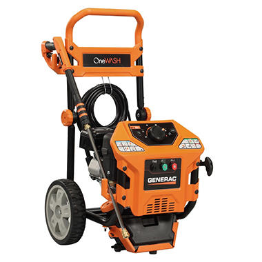 Generac OneWash 2,000-3,000 PSI - Gas Pressure Washer