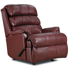 Lane Furniture Richard Top-Grain Leather Power Rocker Recliner (Assorted Colors)