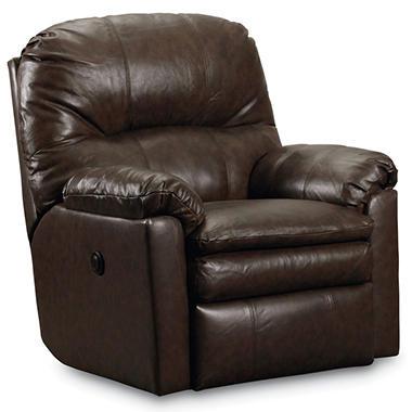 Lane Furniture Henry Top Grain Leather Power Rocker