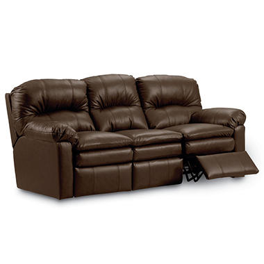 Lane Furniture Henry Top Grain Leather Dual Reclining