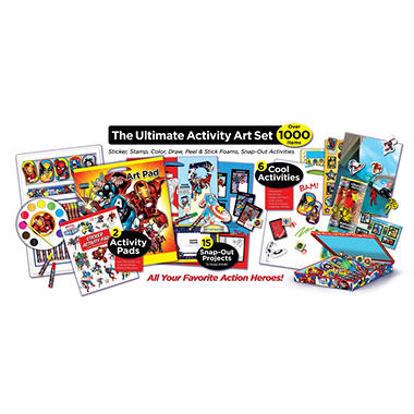 Marvel Super Activity Set