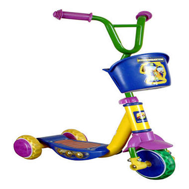 Kid Meteor Light-Up Kick Scooter