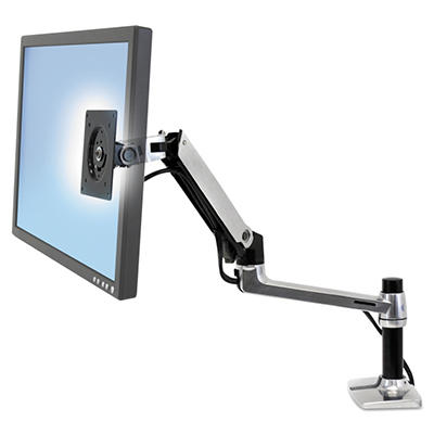 Ergotron LX Desk Mount LCD Arm for WorkFit-D Sit-Stand Desk