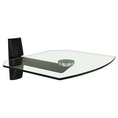 OmniMount Single Glass Wall Shelf - OBECS1
