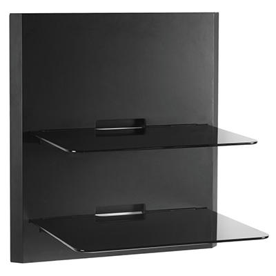 OmniMount Double Glass Wall Shelf