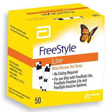 FreeStyle Lite Test Strips - 50 ct.