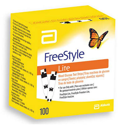 FreeStyle Lite Test Strips - 100 ct.