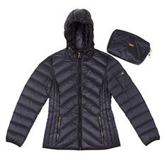 Nicole Miller Packable Down Jacket (Assorted Colors)