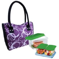 Fit & Fresh Design Lunch Bag w/ Food Storage